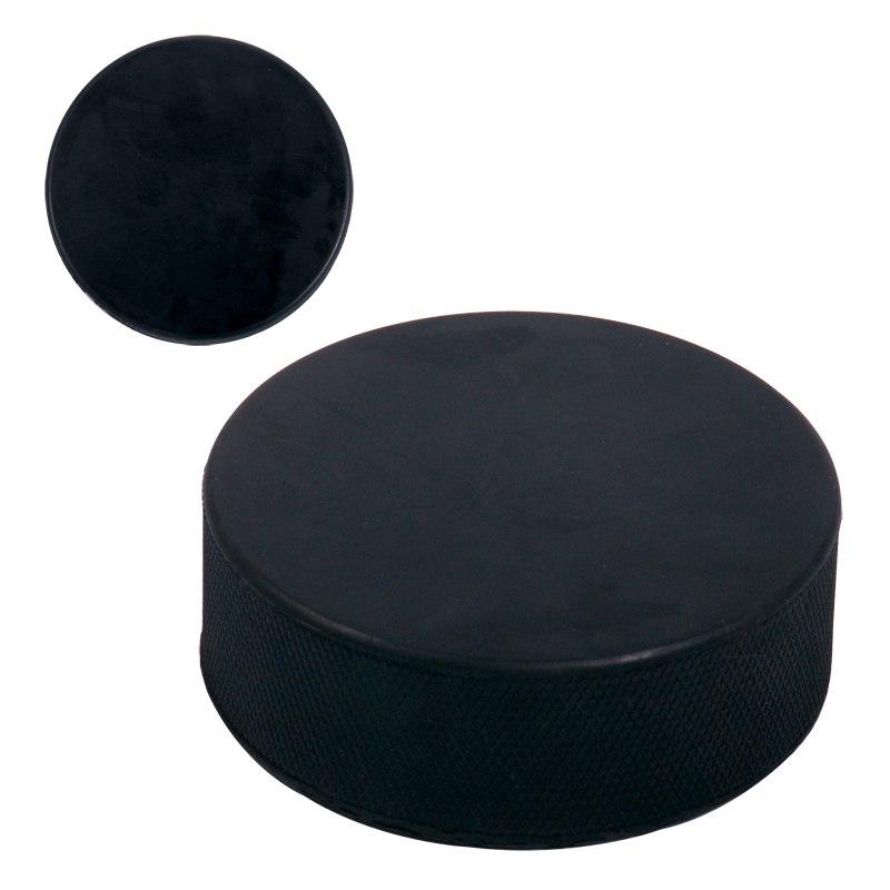 vulcanized rubber puck