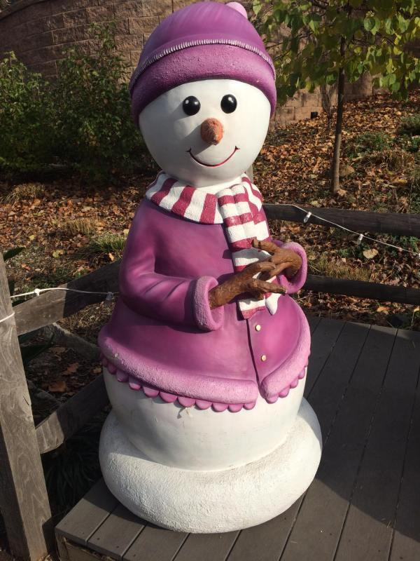 2) snow woman