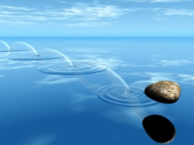 skipping stones pic